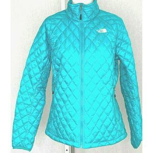North Face Puffer Jacket Packable Green L